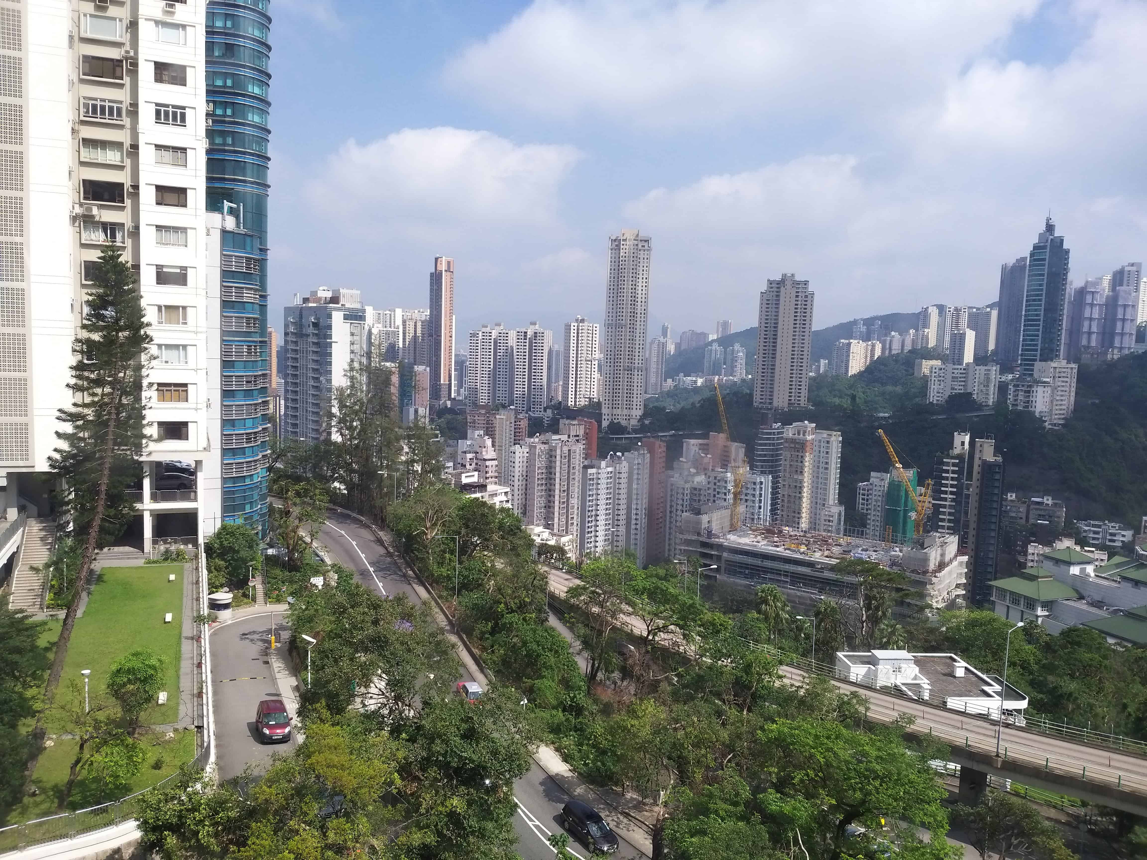 View from Hong Kong Adventist Hospital