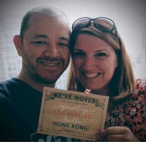 Brad and Maggie's first day in Hong Kong