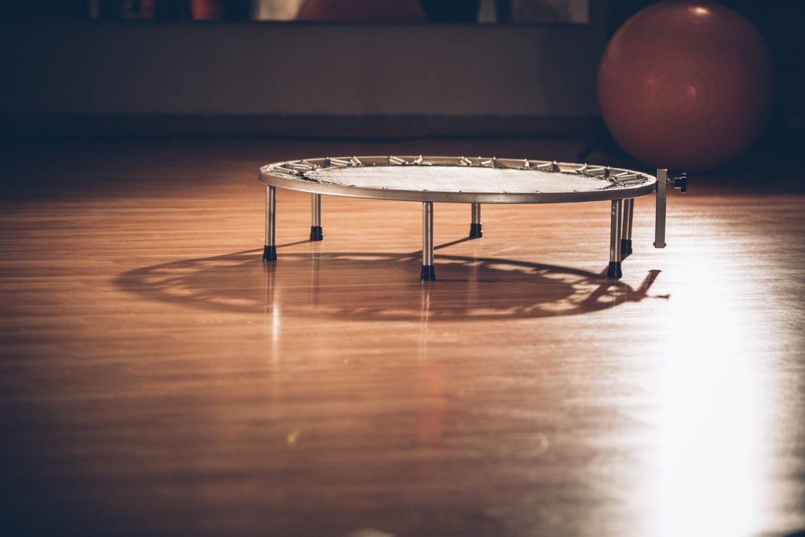 Exercise on a rebounder or small trampoline has benefits for cancer