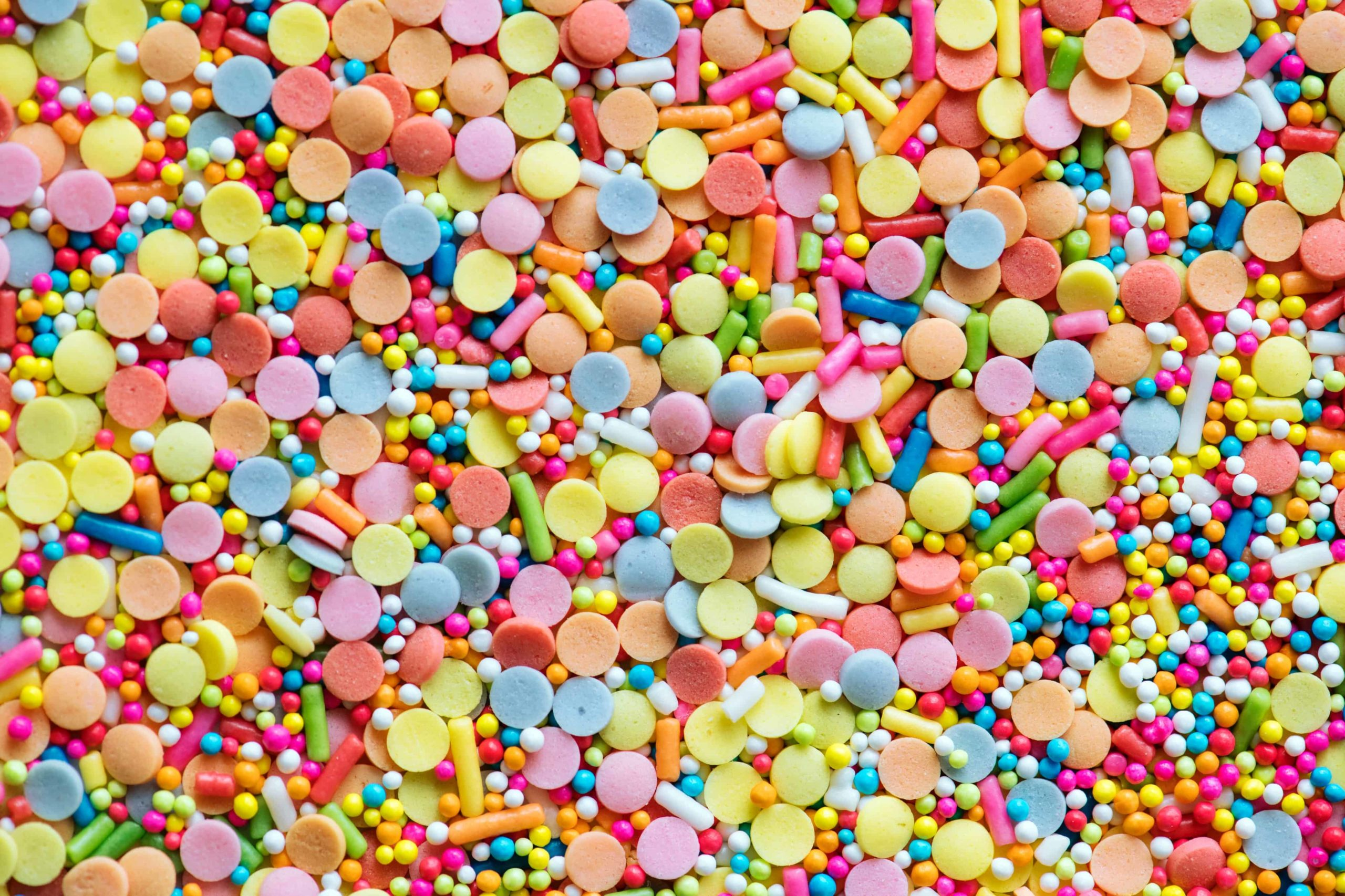 Sugary candies