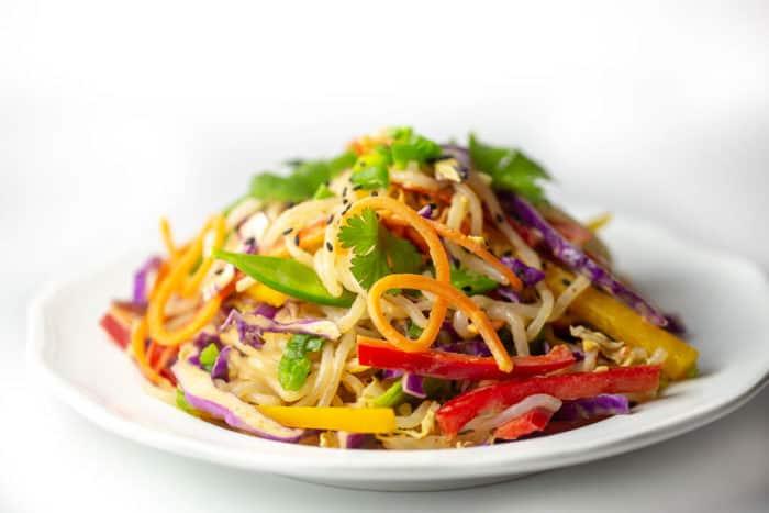 Thai Peanut Free Noodle Salad
