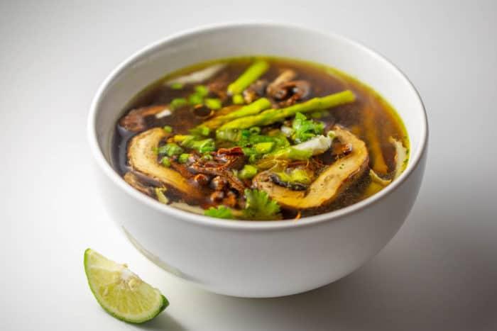 Raw Vegan Keto Soup