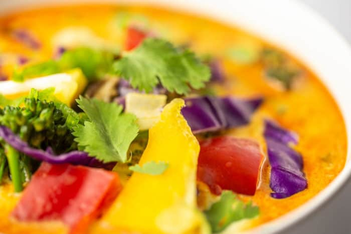 Keto Vegan Thai Curry for the Cancer Fighting Diet