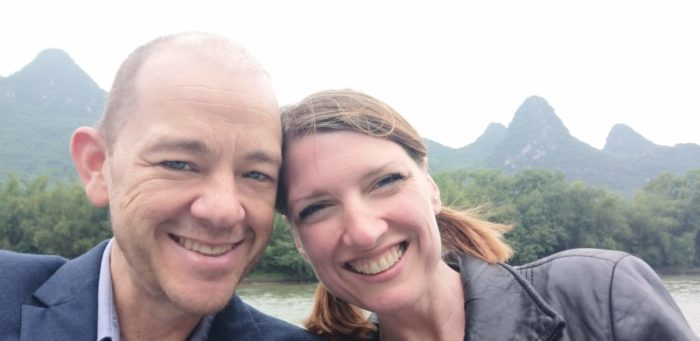 Brad and Maggie in Guilin May 2019