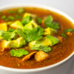 Vegan keto tortilla-style soup is paleo and pegan
