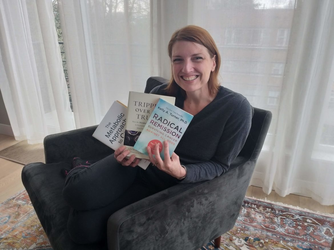 Maggie's favorite books for a cancer diagnosis
