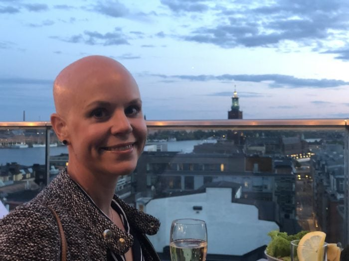 Ida living her best life with stage 4 ovarian cancer.